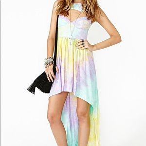 """this is a love song pastel rainbow """"del rey"""" dress"""